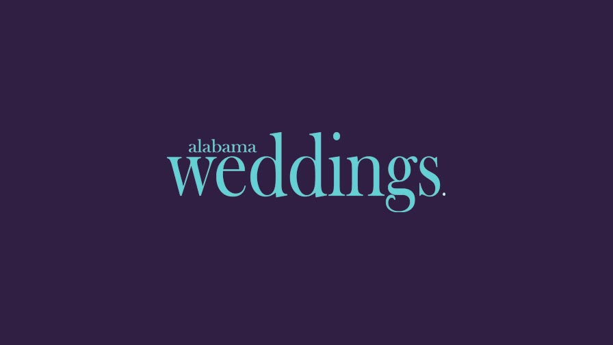 Alabama Weddings Magazine portfolio project