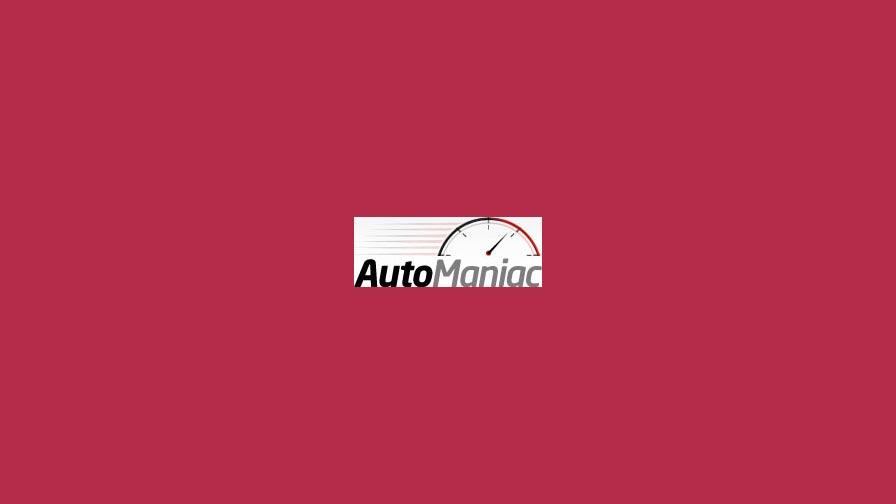 Automaniac portfolio project